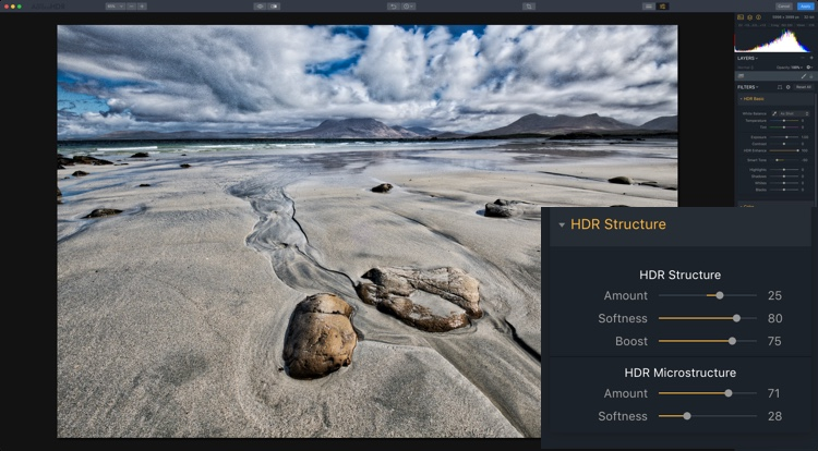 How to Make 5 Different Looks using Aurora HDR 2018 - gritty HDR look