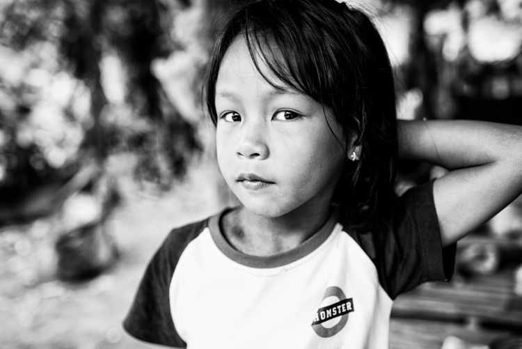 portrait of a young Kayan girl in Chiang Mai, Thailand. - 3 Key Tips for Making More Dynamic Photographs