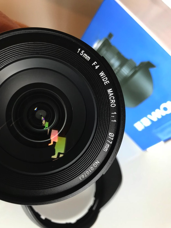 Review of the Venus Laowa 15mm F/4 Wide Angle 1:1 Macro Lens for Landscape Photographers - filter thread 77mm