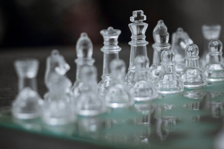 A chess board image with accurate focus managed using Live View - Focus Challenges and How Live View Can Help You Get Razor-Sharp Images