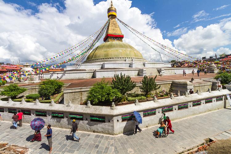 Image: Boudhanath Stupa, Nepal
