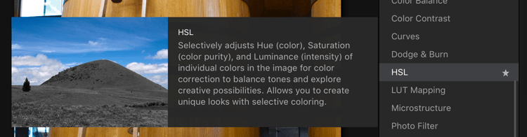 HSL Filter - Easy Color Grading With LUTs and Luminar 2018