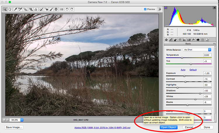 Open Object - How to Create with a Good Workflow Using Smart Objects in Photoshop