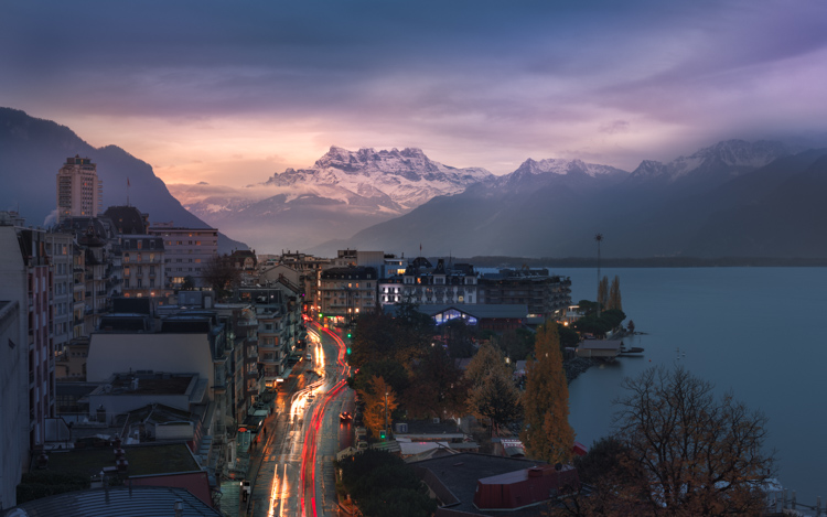 Switzerland Montreux Compressed Time