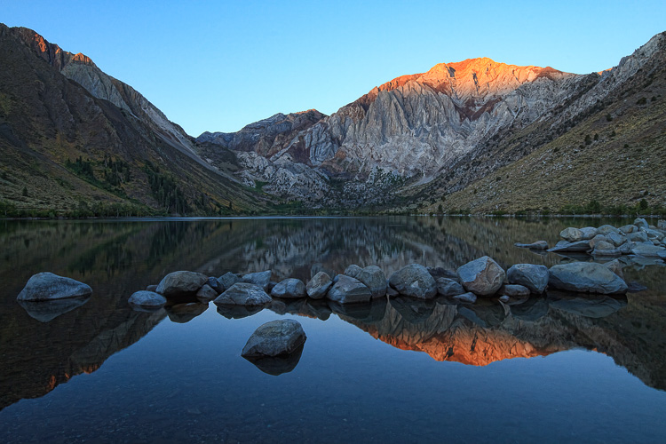 Convict Lake, California - Wide-Angle Versus Telephoto Lenses for Landscape Photography