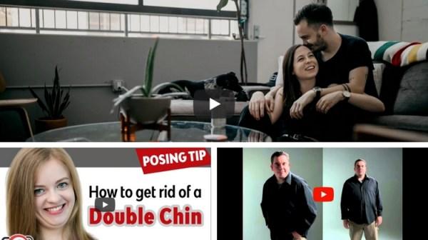 Video Tutorials – Portrait Posing Tips