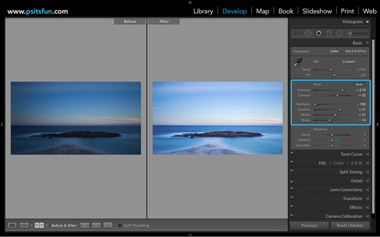 05 Long Exposure Photography 201 How to edit a Long Exposure Seascape