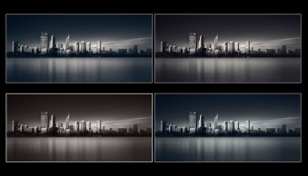 How to Create Silky Split Toned Black and White Photos Using Luminosity Masks