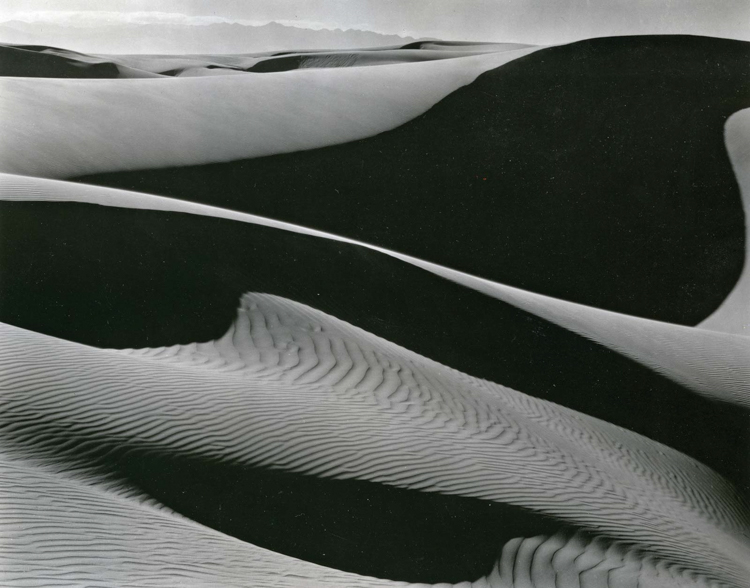 sand dunes - More Lessons from the Masters of Photography: Edward Weston