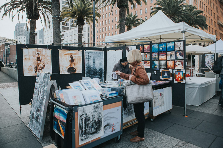 Tips for photographing street markets