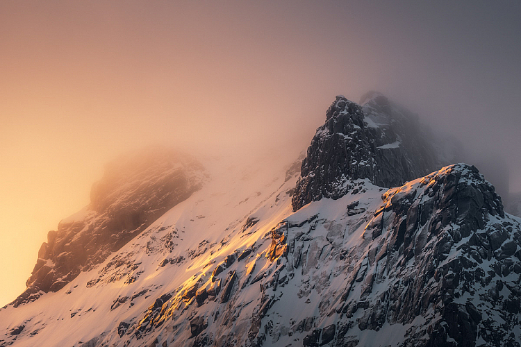 mountain landscape best ISO for landscapes