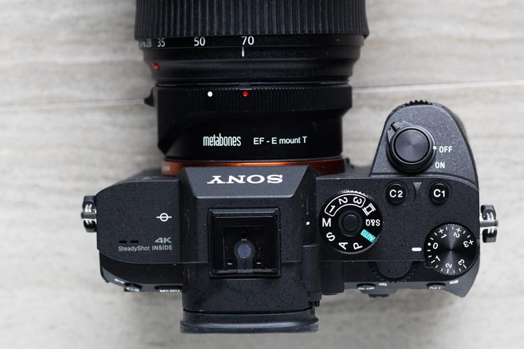 Review of Metabones Adapter Mark V - Canon EF to Sony E-Mount