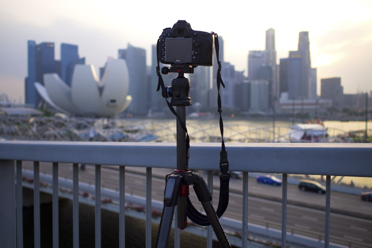 Center column - Avoid Long Exposure Photographers' Worst Nightmare by Setting Your Tripod Low