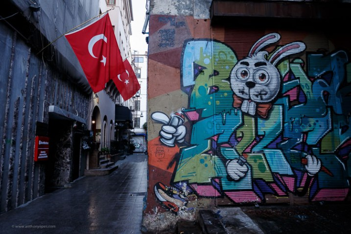 flag in Turkey - How to overcome your technical or artistic shortcomings and improve your photography