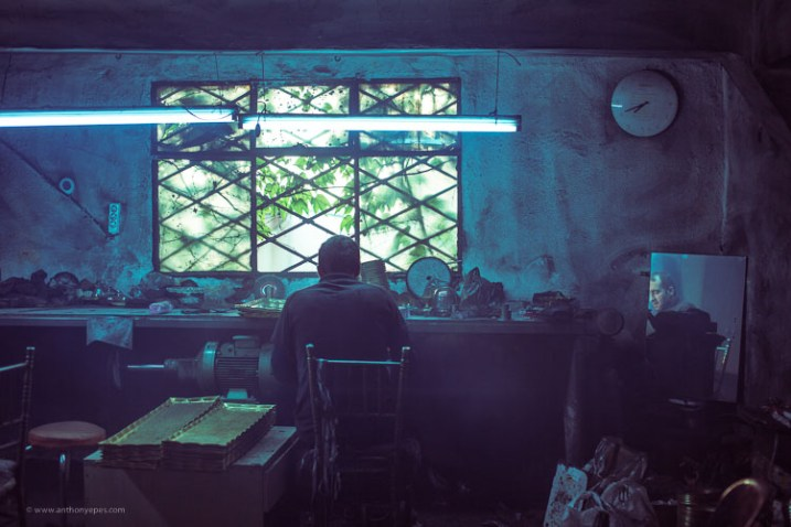 man in a workshop - How to overcome your technical or artistic shortcomings and improve your photography