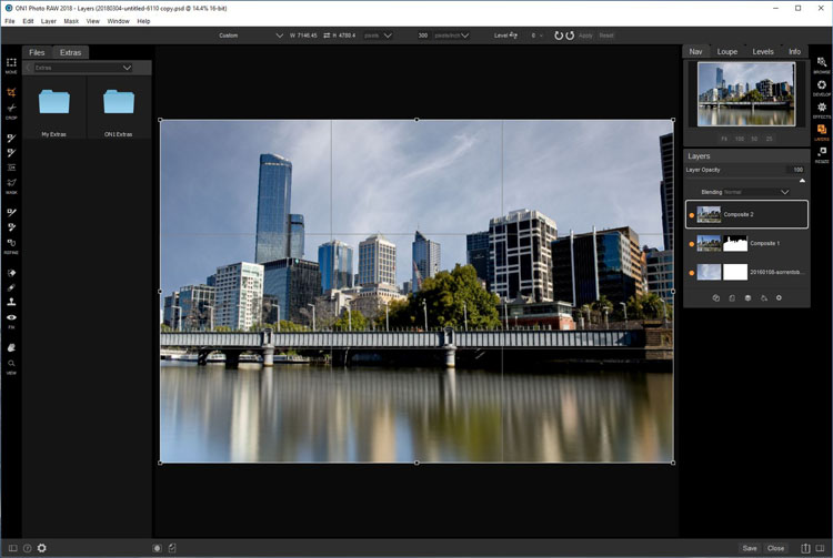 Software Review - ON1 Photo RAW 2018.1 - Layers