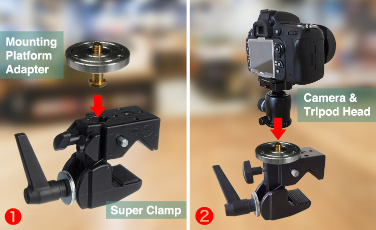 Set up clamp - Avoid Long Exposure Photographers' Worst Nightmare by Setting Your Tripod Low