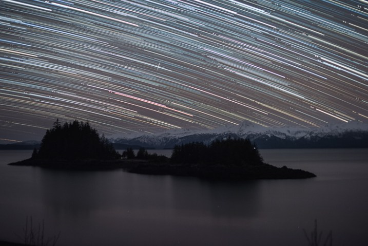 Star Trails, Alaska, - 7 Tips for Shooting and Processing Star Trails