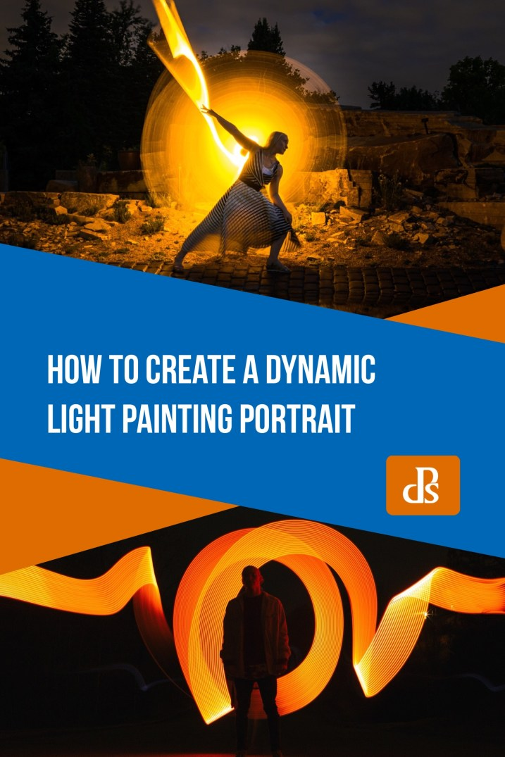 How to Create a Dynamic Light Painting Portrait