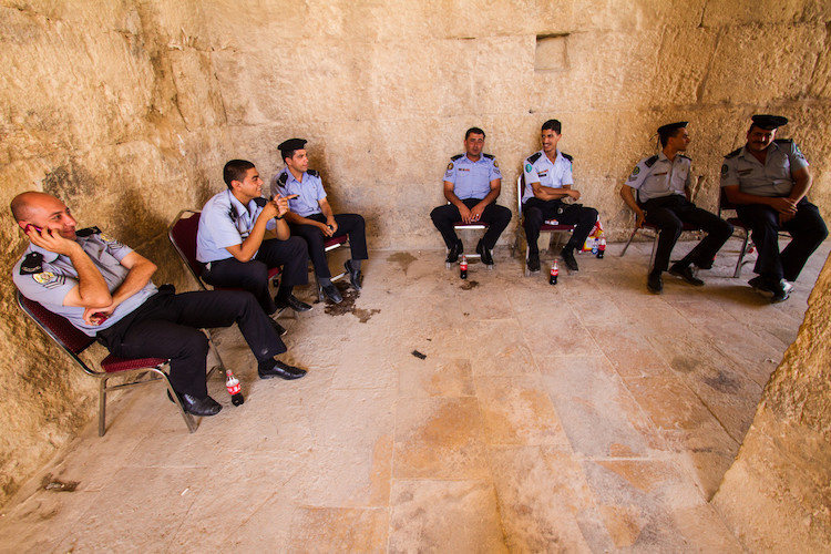4 Reasons Why Putting Your Camera Down Can Help You Take Better Photos - officers in Jordan