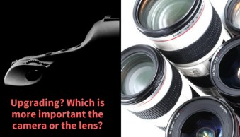 Upgrading Your Camera – New Camera Body or a New Lens?