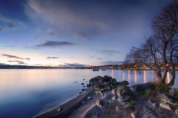 Landscape photo of Two Mile Bay, Lake Taupo, New Zealand - photography portfolio