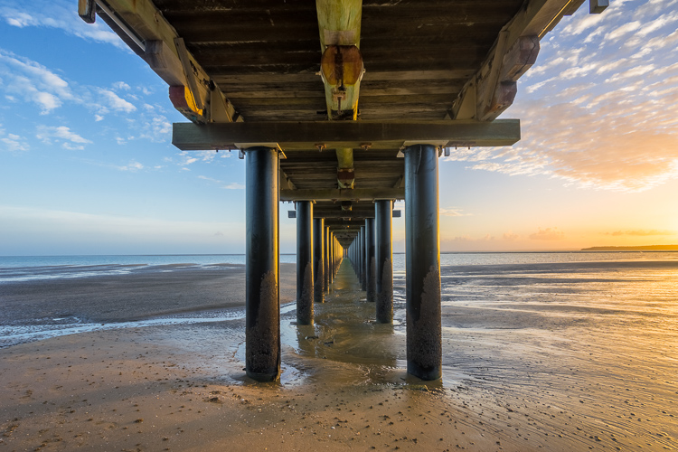 Sunrise at Urangan Pier, Hervey Bay, Fraser Coast, Queensland, Australia - photography portfolio