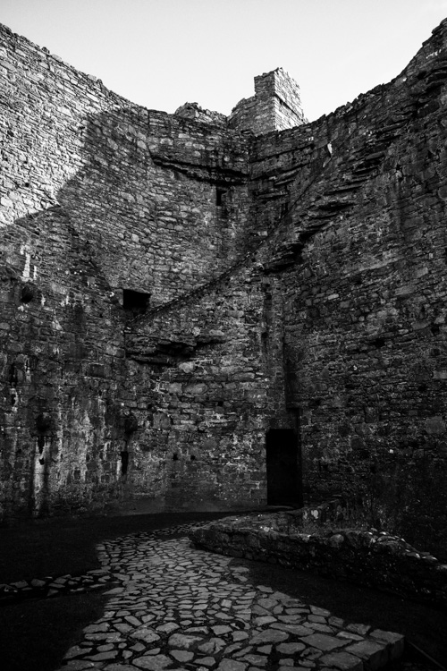 Harlech castle black and white - 5 Ways to Find Great Locations for Travel Photography