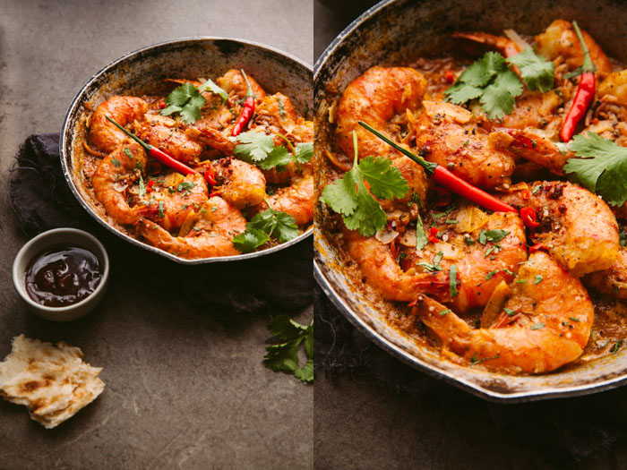 indian prawns - Are You Making These Five Food Photography Mistakes?