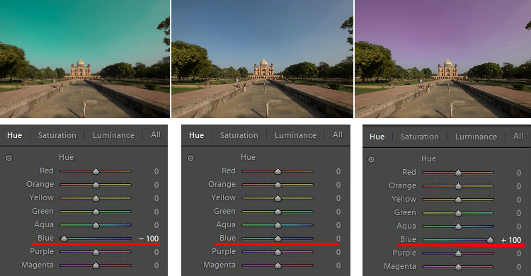 hue adjustments - How to Use the Lightroom HSL Panel for Landscape Photo Editing