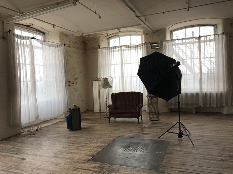 How a Studio Photographer Came to Love Natural Light Again - window lit studio