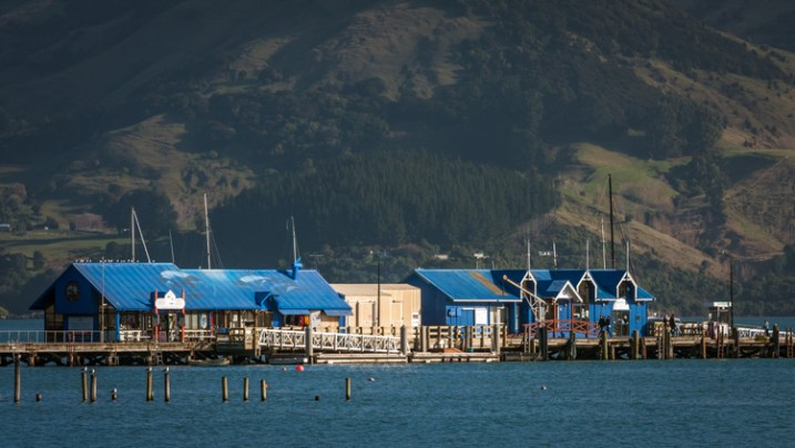 How to do Visual Storytelling with Photos - main wharf in Akaroa