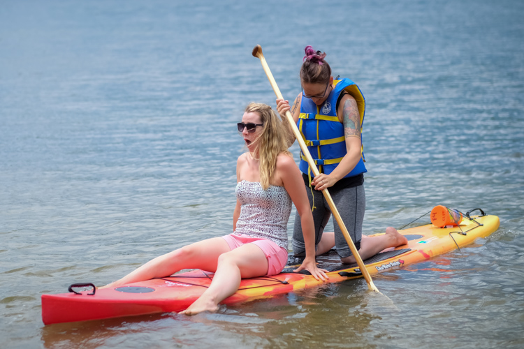 Paddle boarding - How Conquer Your Fear of People as a Photographer