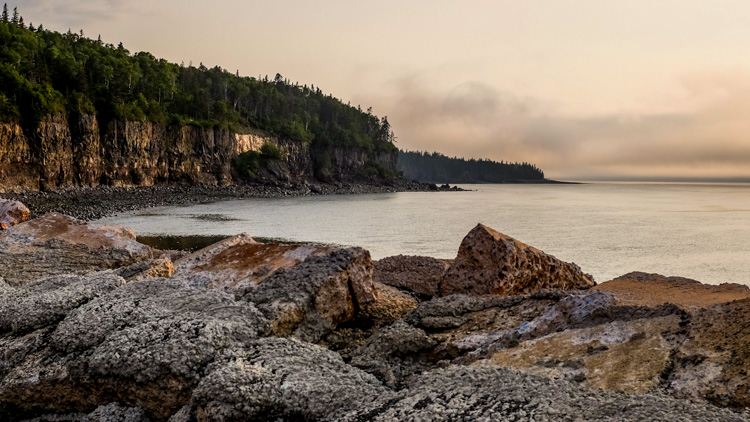 Hall's Harbour in the evening light. - How to Photograph Your Family Vacation