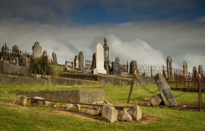 cemetery - 9 Ways to Create Balance in Your Photography