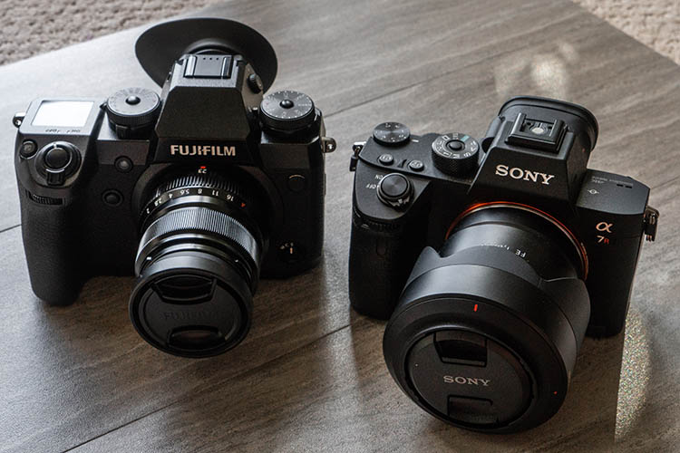 Camera Comparison - The Fujifilm X-H1 Versus the Sony a7R III