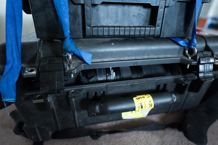 drill holes - DIY Camera Bag Modifications for DSLR Storage and an Active Lifestyle