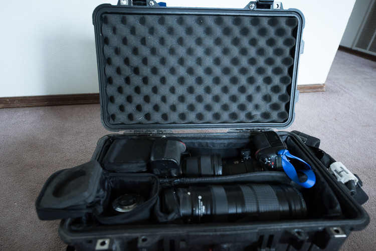 Pelican case - DIY Camera Bag Modifications for DSLR Storage and an Active Lifestyle