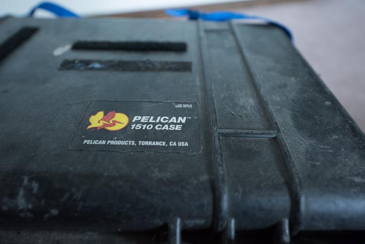 Pelican 1510, DSLR Storage, Camera, Modification