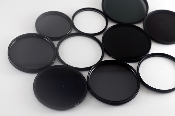 5 Camera Filters That Can Enhance Your Photography - set of different filters