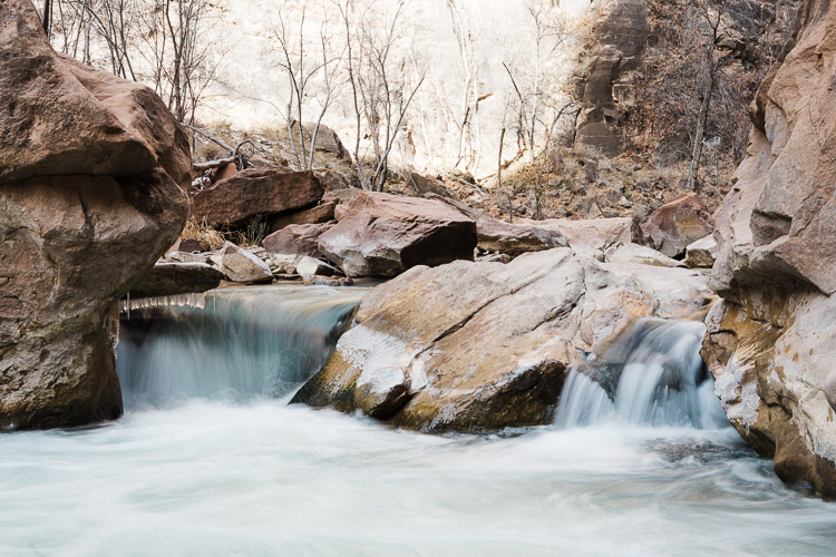 RAW Versus JPEG File Format - photo of a stream and moving water