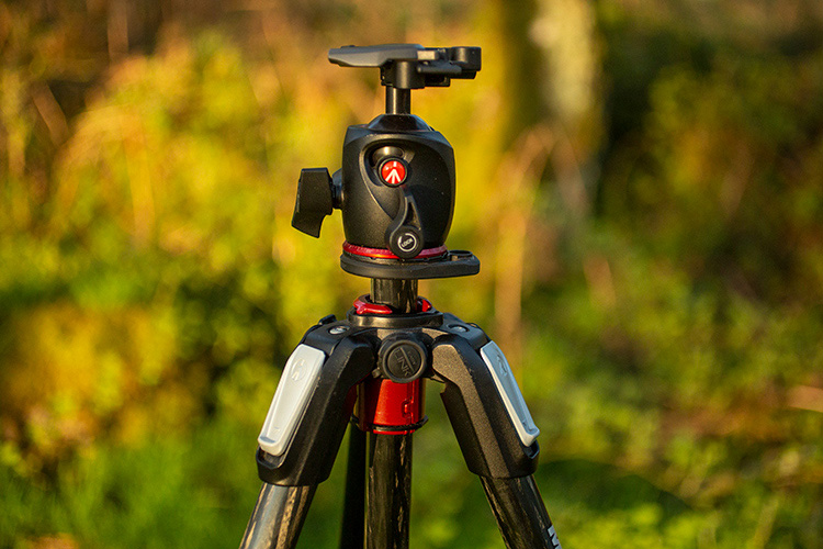 tripod ball head - Review: Manfrotto 055 Carbon Fiber Tripod and XPRO Ball Head