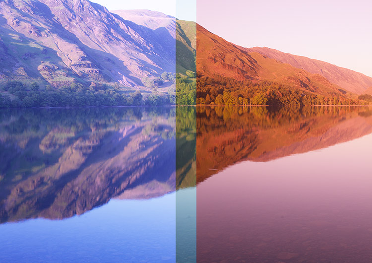 example of image overlap - Create Better Panoramas