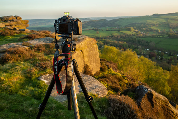 21 Tips to Help You Create Better Panoramas - camera on a tripod