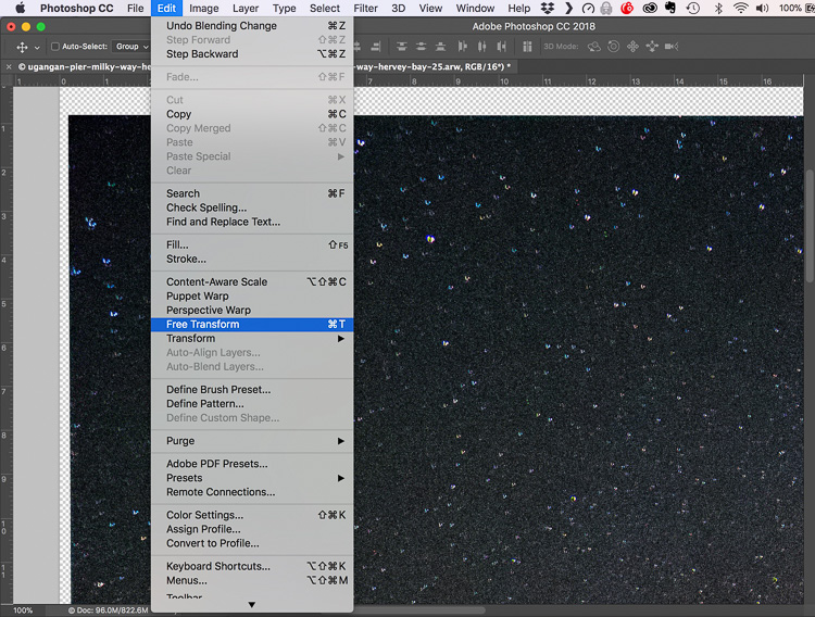 How to Reduce Digital Noise in Astrophotography Using Exposure Stacking - free transform