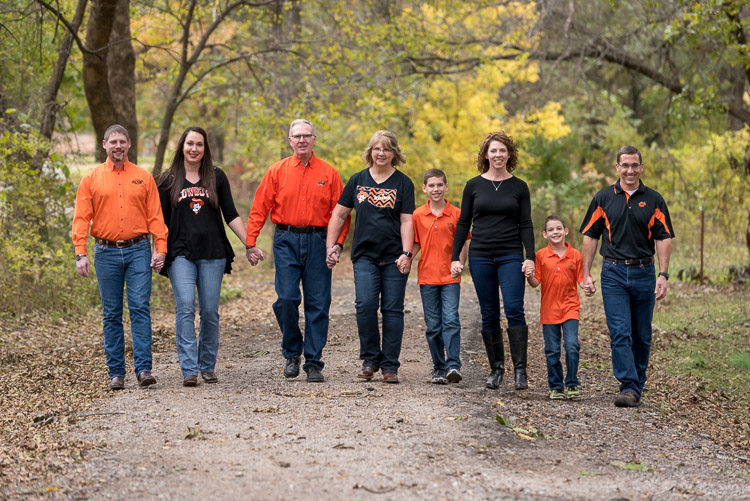 Why You Need to Manage Expectations - Both Yours and Your Client's - family photo of people walking