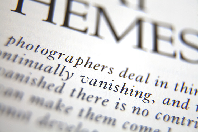 close up of words on a page - Why Old Photography Books and Magazines are Still Valuable
