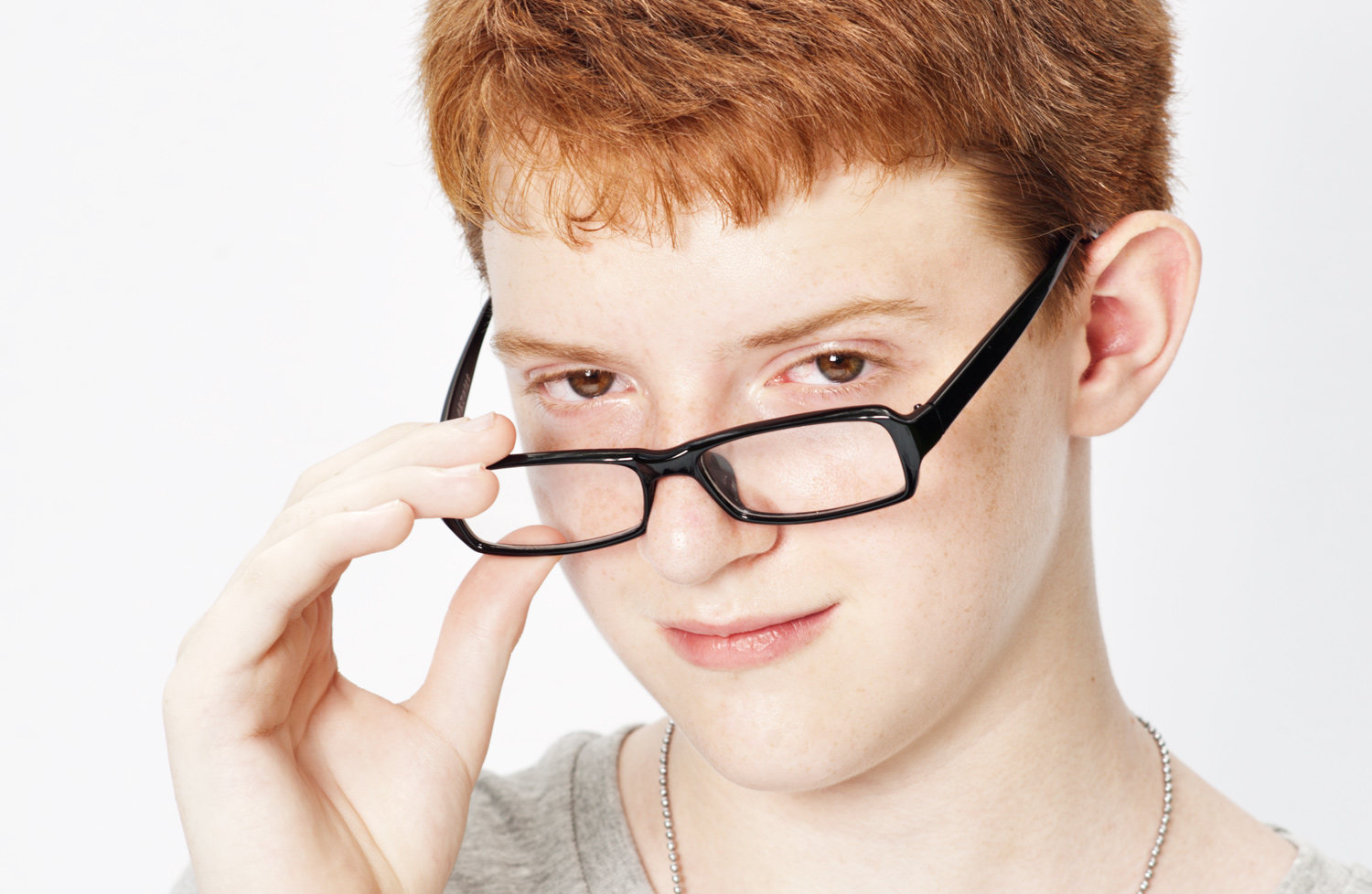 Boy with glasses - Viewfinder Image Blurry? You May Need to Adjust Your Camera's Diopter - Here's How