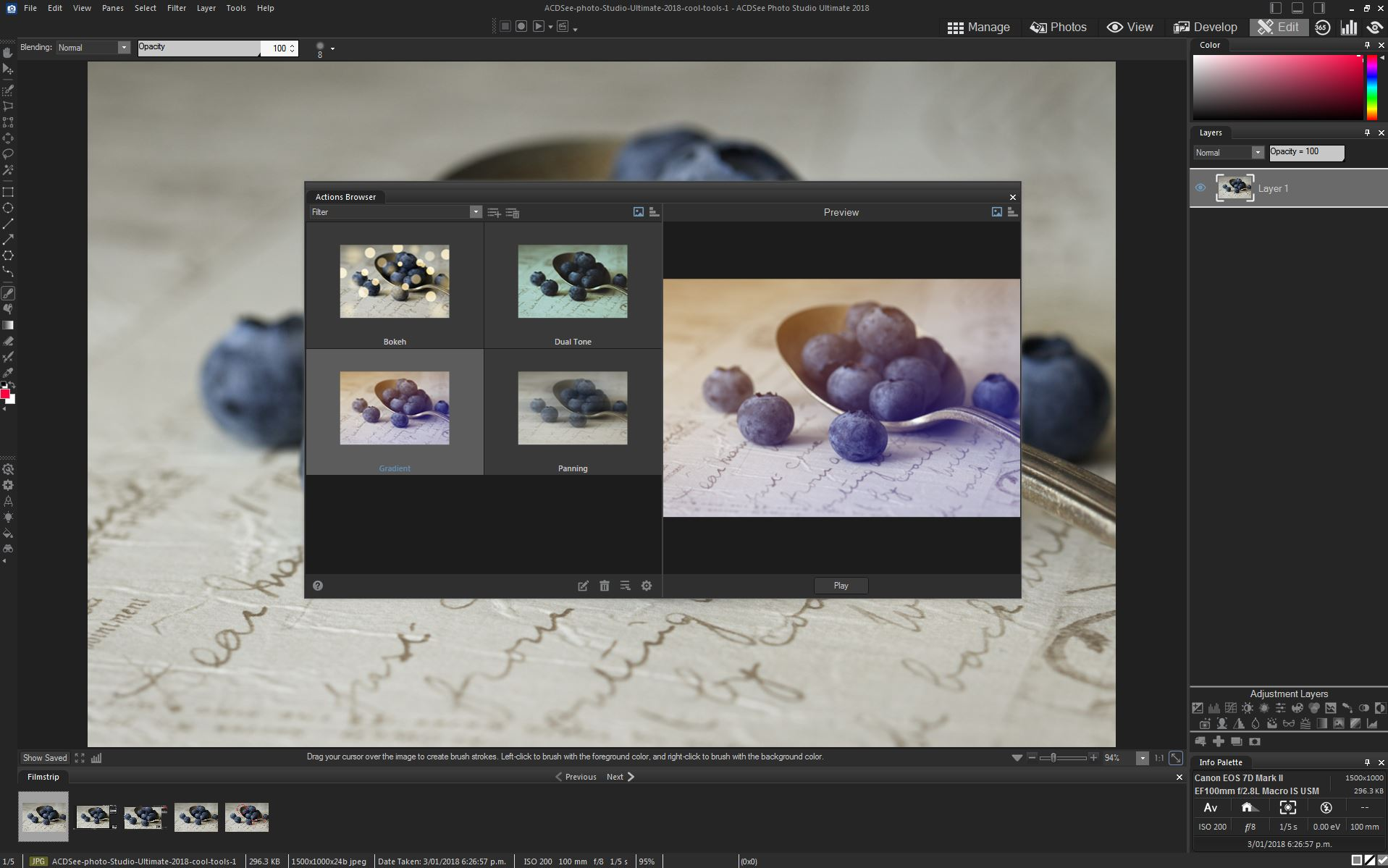 Some Cool Tools For Editing Your Photos Inside ACDSee Photo Studio Ultimate 2018