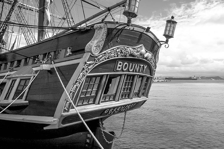 Bounty CR BW750 - Rekindling the Romance of Black and White